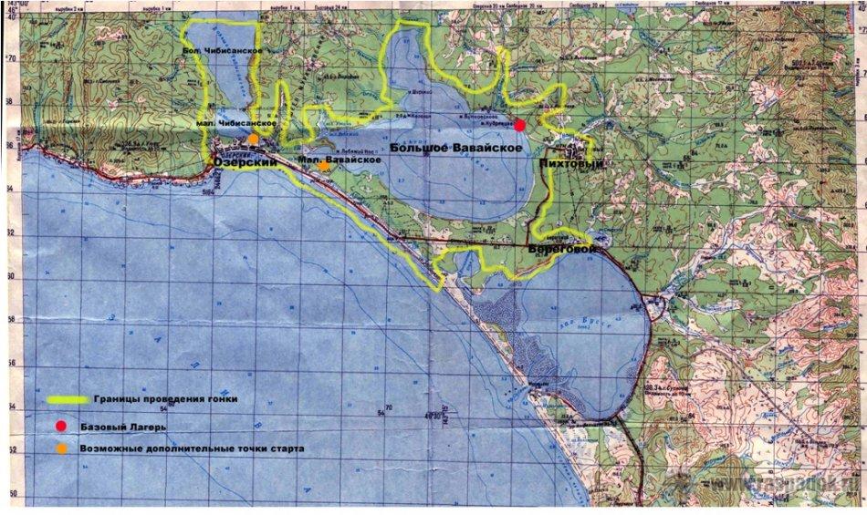 Положение и правила Приключенческой гонки 2012 «Ваваи-Чибисаны»