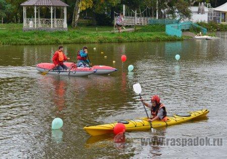 «Бумеранг» провёл праздник и соревнования по каякингу