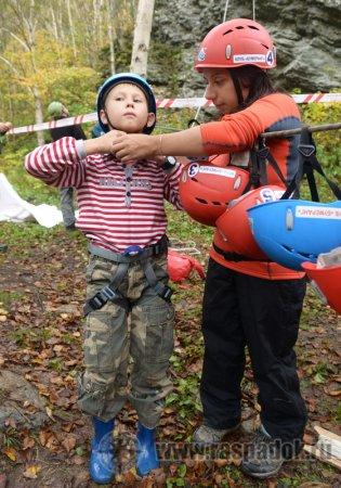 «Бумеранг» провёл соревнования по скалолазанию