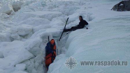 ледовый лыжный поход Тугур-Сахалин 2017