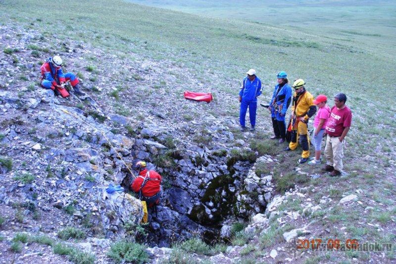 Cпелео поход по Монгольской Народной республике